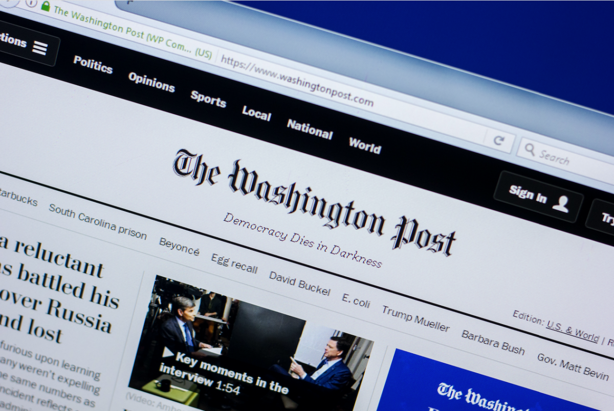 Washington Post hiring journalists in London and Seoul as it plans to create new breaking-news hubs