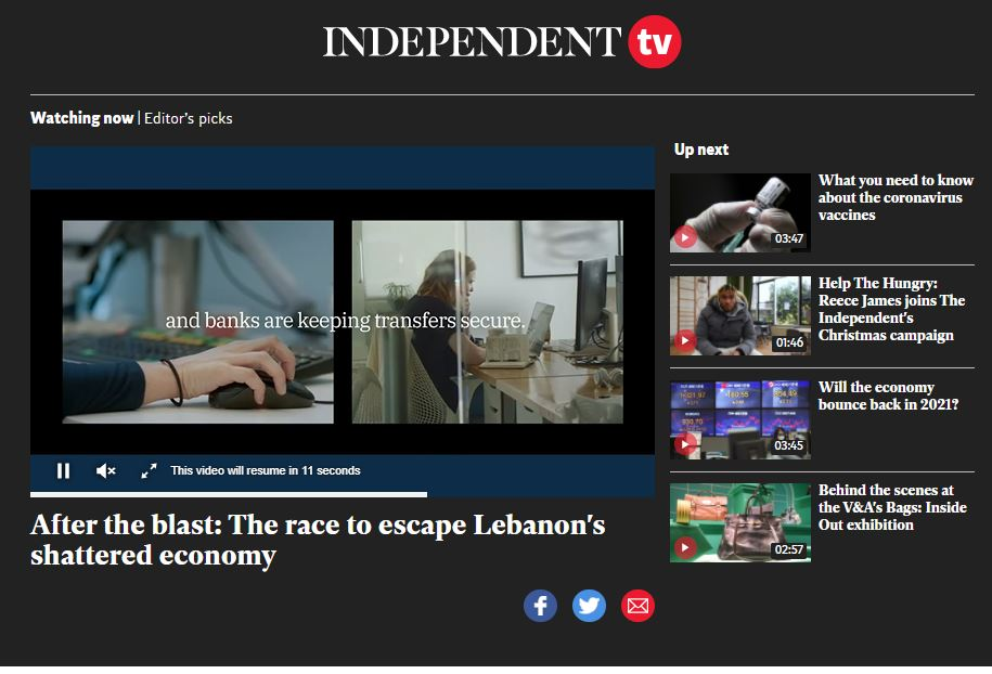 Independent TV launches as title reports revenue up 23% year on year