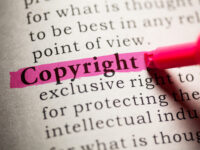 Are images for social media copyrighted