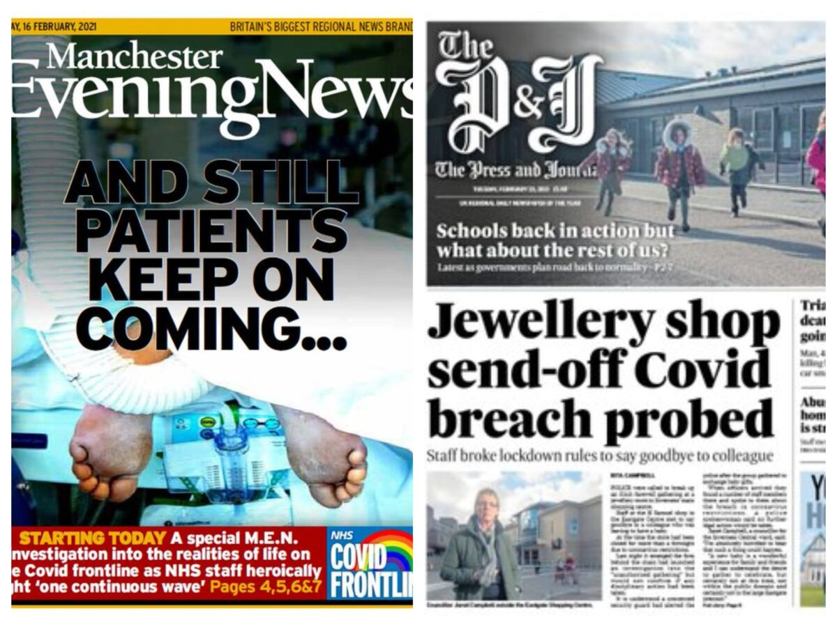 ABCs: UK local newspaper sales hard-hit by pandemic with dailies down by average of 18%