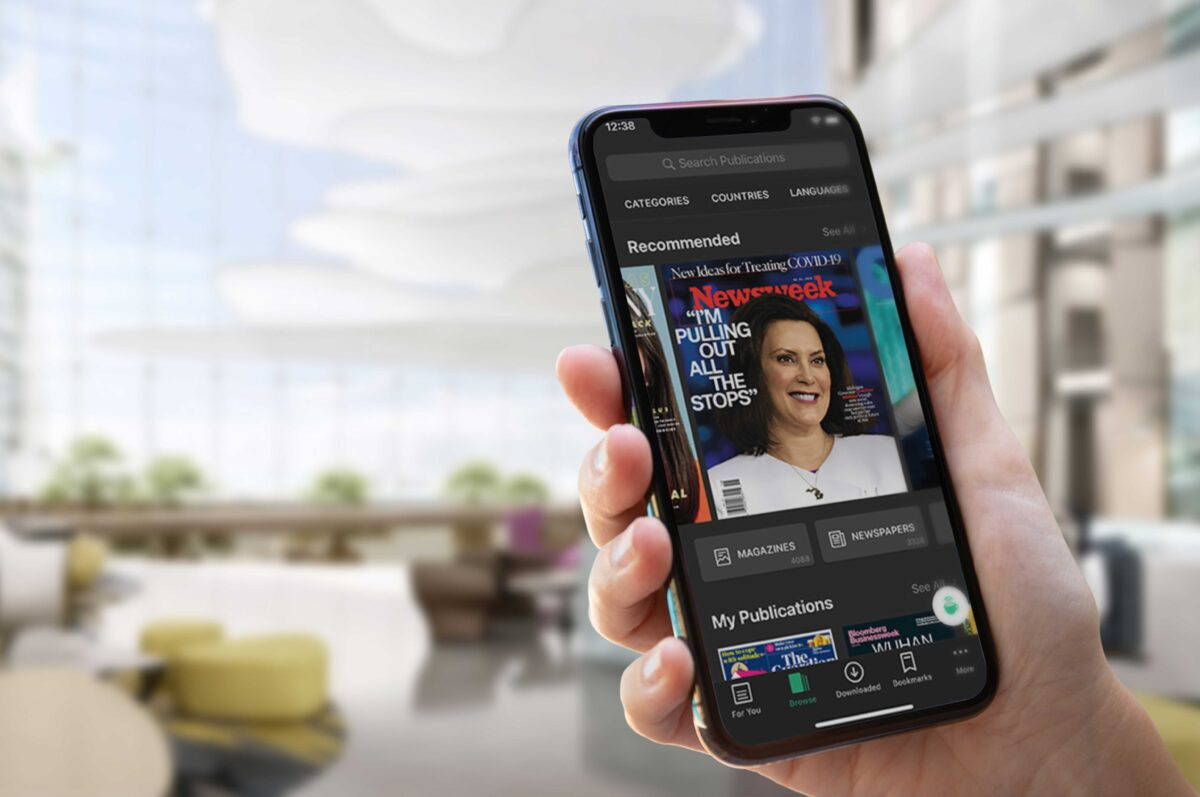 PressReader for publishers: The 'Spotify for news' service used by British Airways, Marriott and Four Seasons