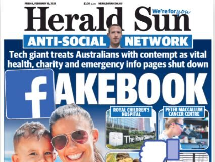 Data: How Australian news websites saw sharp fall in traffic after Facebook news ban