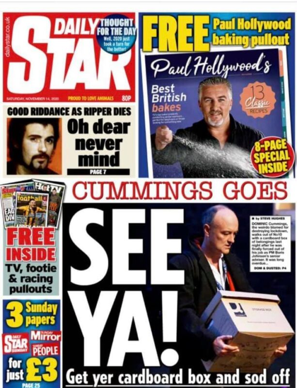 Daily Star front pages