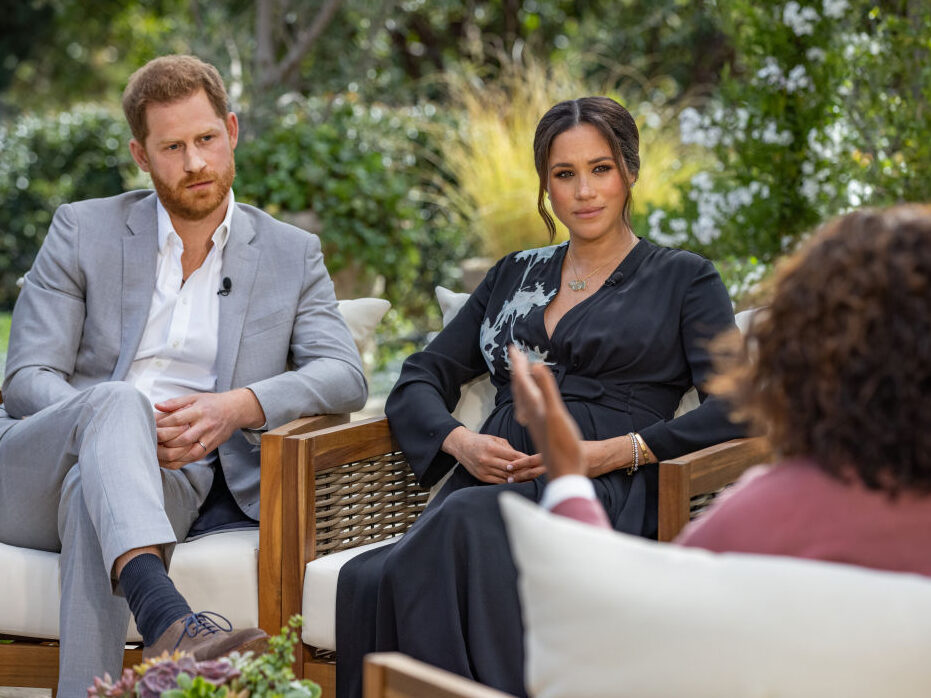 Oprah's production company refuses Daily Mail demand to remove 'faked' Meghan Markle headlines from royal interview