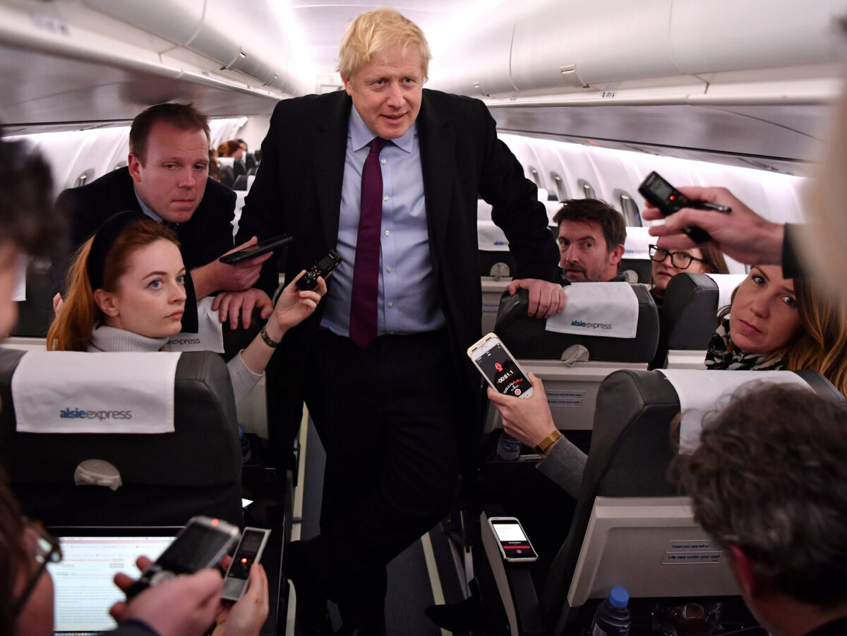 Boris Johnson says 'cowardly' abuse of journalists must end as Govt publishes action plan