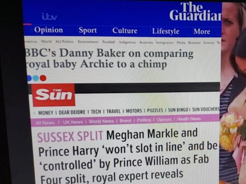 Misleading headlines removed from ITV version of Meghan interview but CBS remains silent