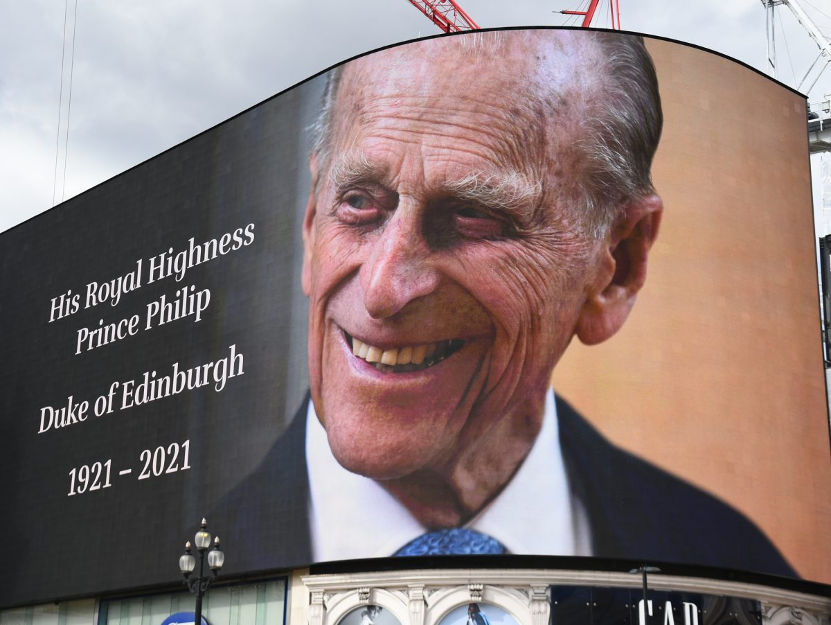 Newsdiary 12-18 April: Parliament recalled for Prince Philip tributes and English shops and gyms reopen
