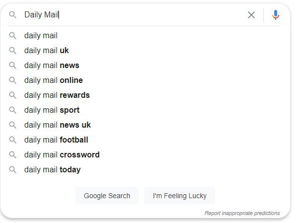 Daily Mail brings anti-monopoly lawsuit against Google in US