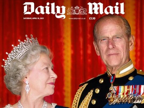 UK newspapers dedicated more than 500 print pages to Prince Philip within three days of duke's death