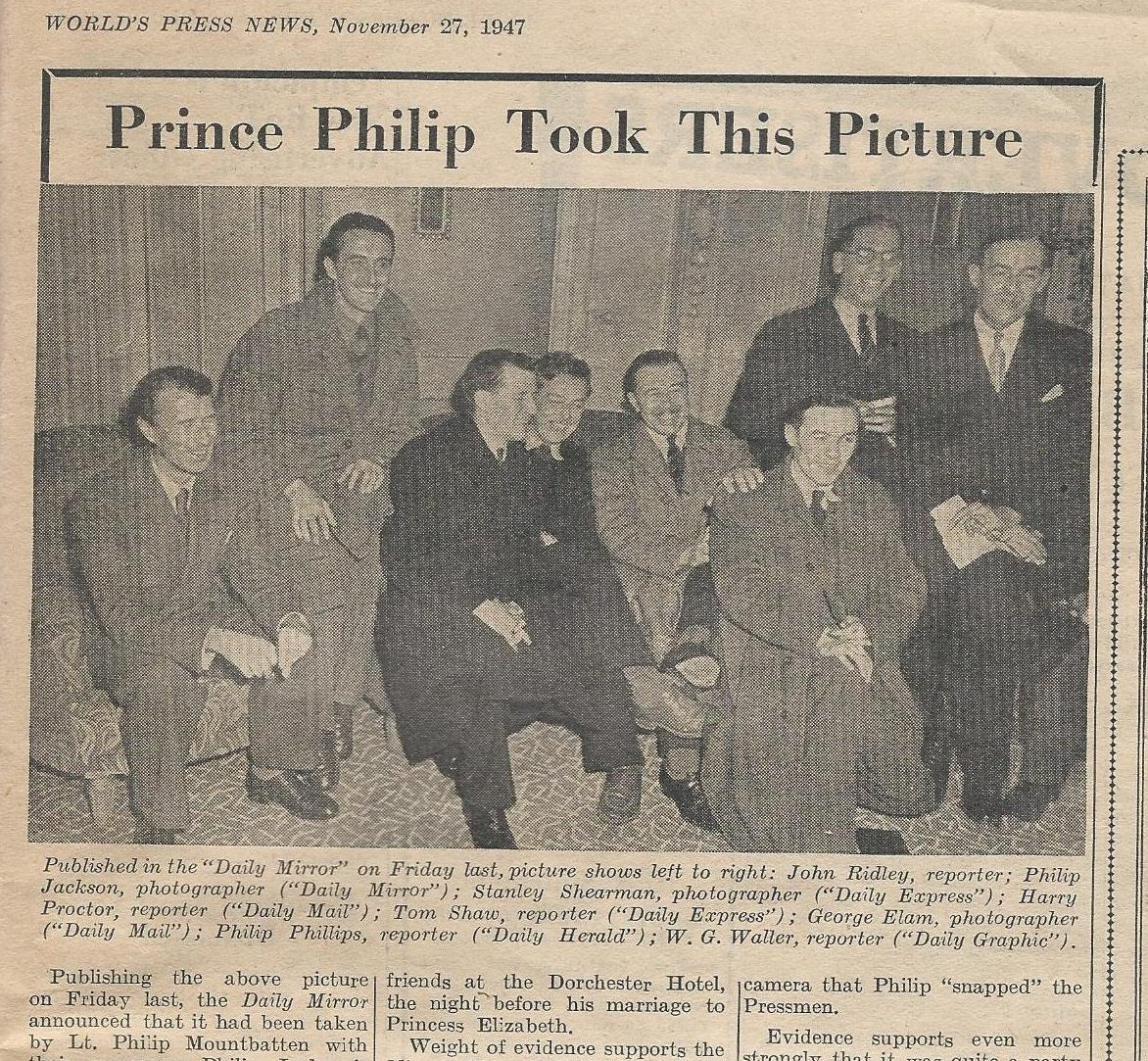 Remembering when Fleet Street journalists blagged their way into Prince Philip's stag do