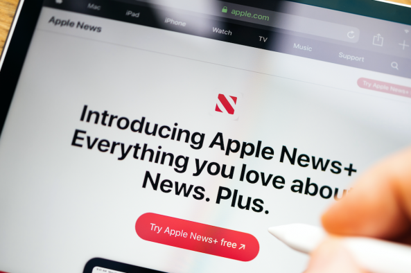 Apple News+ subscriber numbers