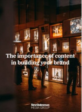 How to use great content to build your brand - white paper