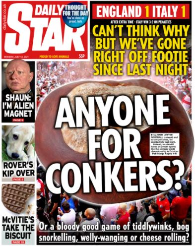 Euro front pages: Daily Star