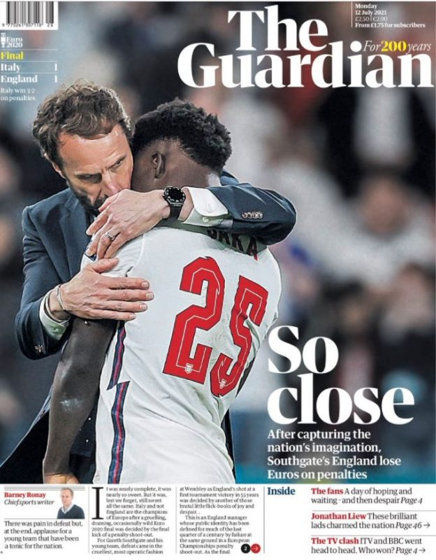 Euro front pages: The Guardian