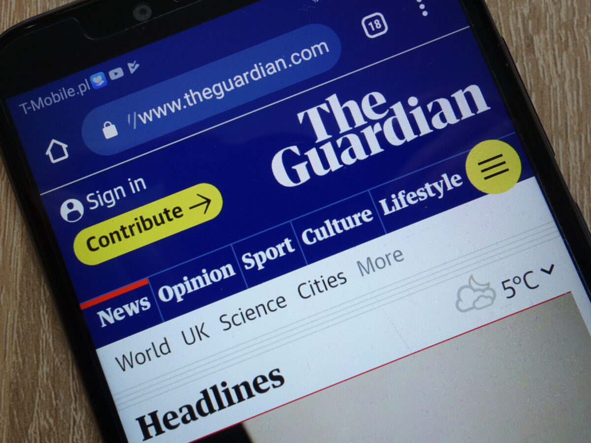 Guardian digital reader revenue climbs during pandemic year with half from outside UK