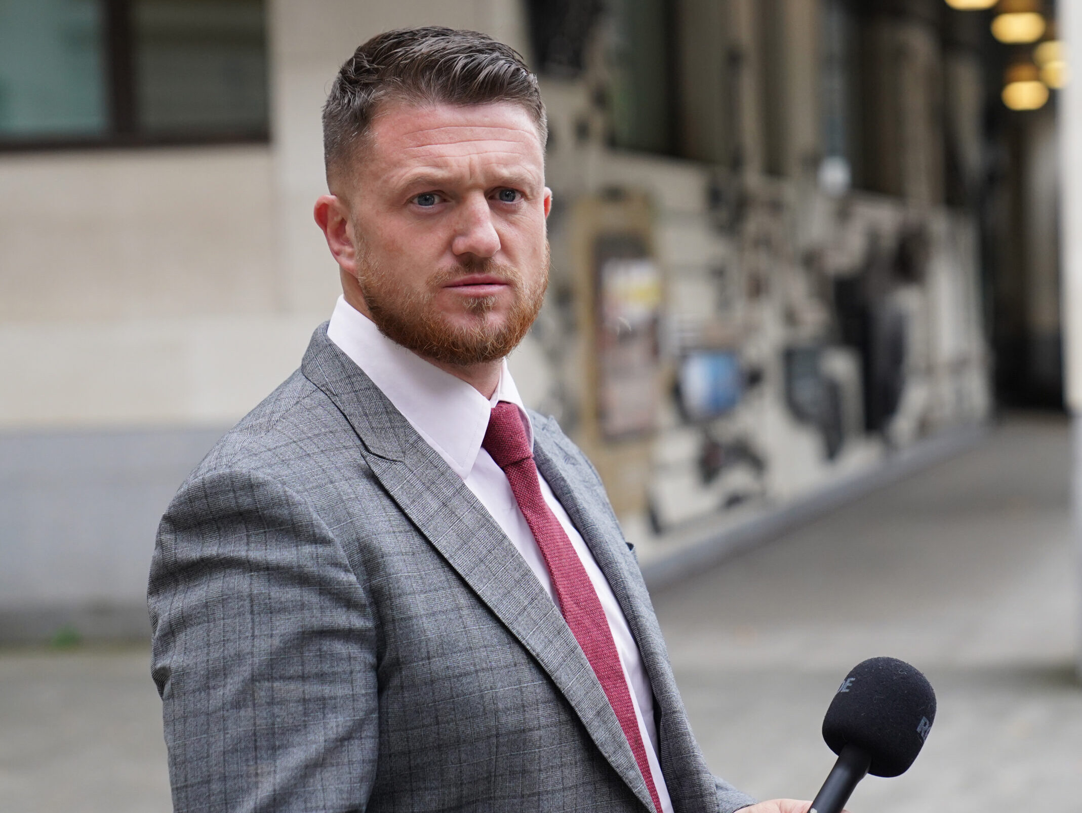 Tommy Robinsonaccused of stalking Independent home affairs correspondent Lizzie Dearden