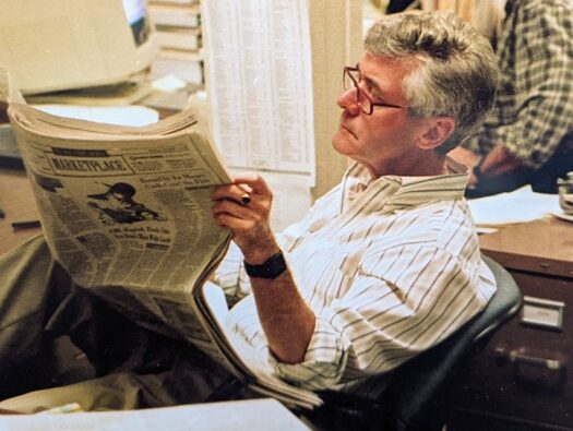 Ex-Mirror and National Enquirer journalist who became front-page news in media anthrax attack dies aged 82