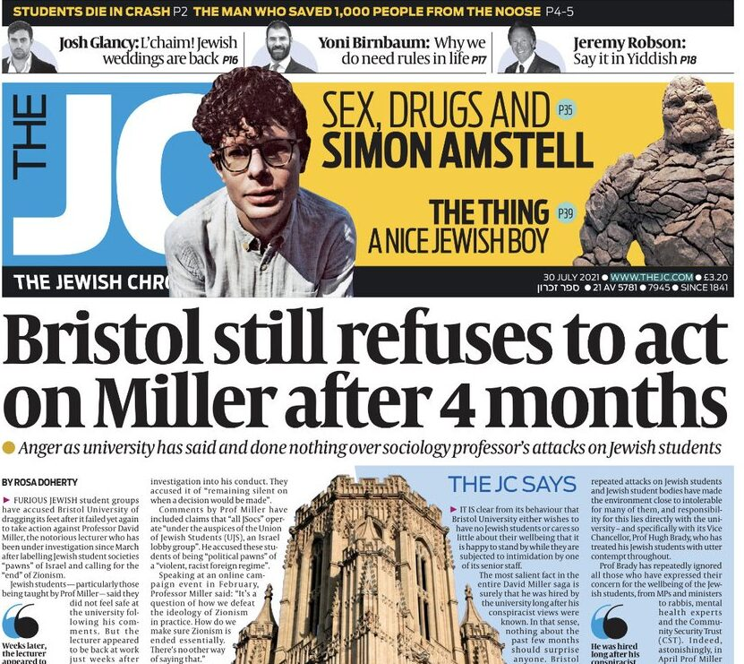 IPSO faces calls to launch first standards investigation into Jewish Chronicle