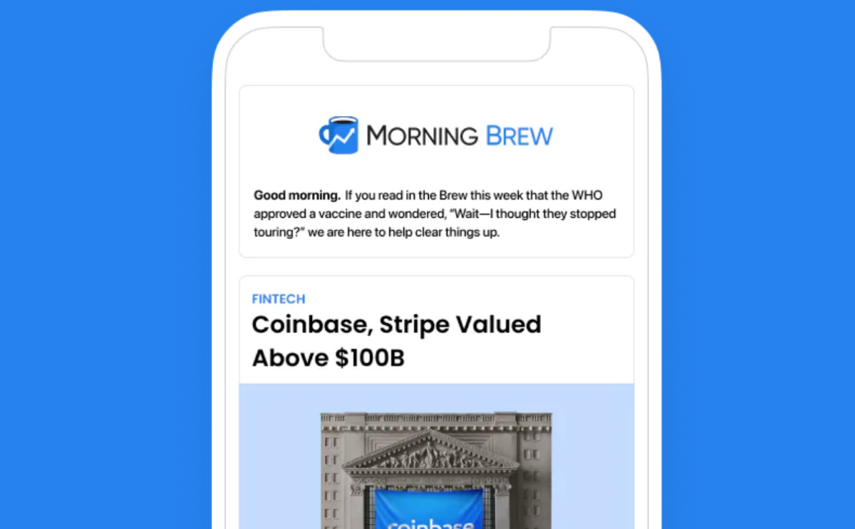 CEO interview: How student start-up Morning Brew became a $75m-valued newsletter business