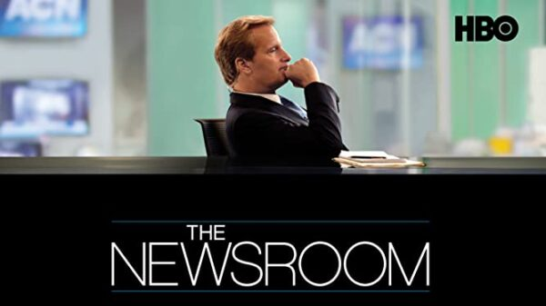 TV shows about journalists The Newsroom