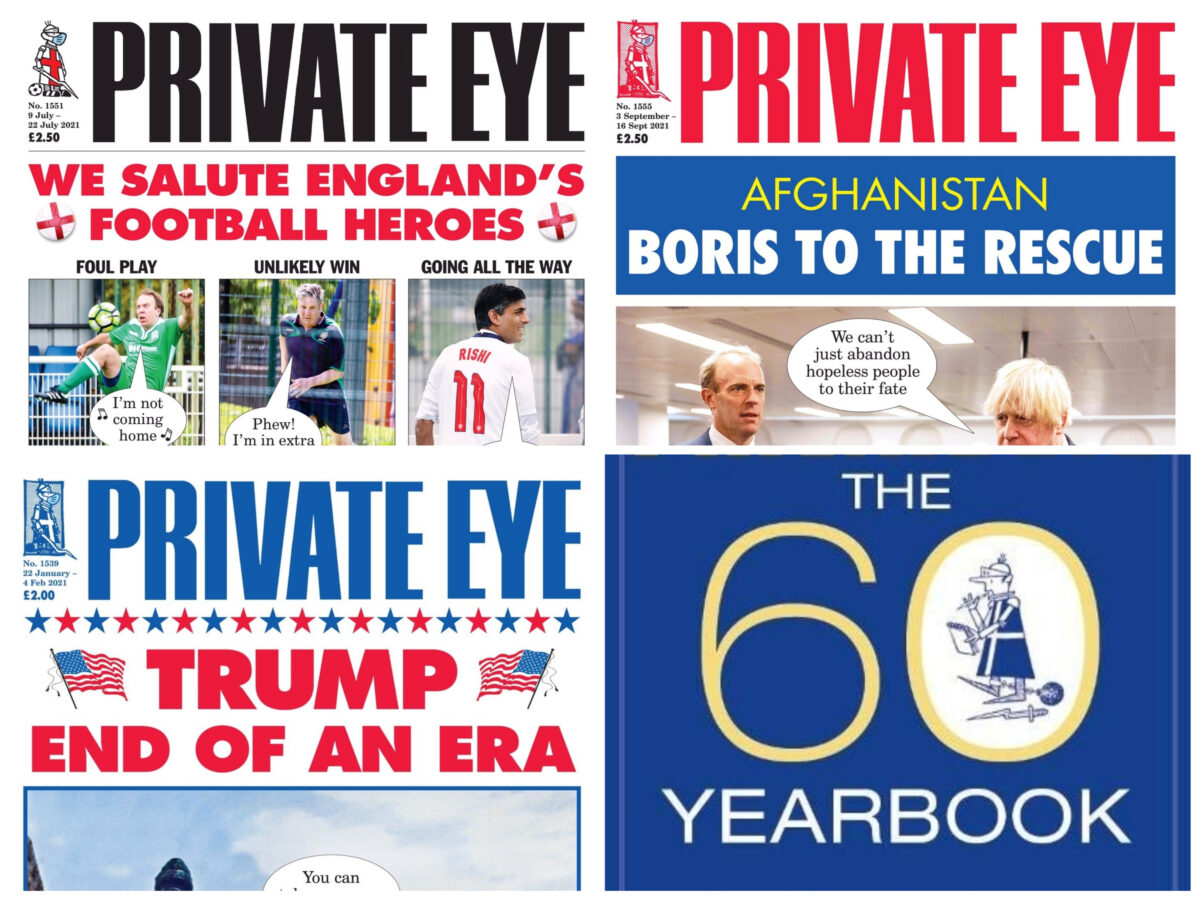 Private Eye at 60: Ian Hislop and Adam Macqueen on spoofs, scoops and public outrage