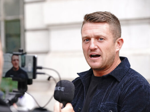 Tommy Robinson given five-year stalking order for harassing Independent journalist