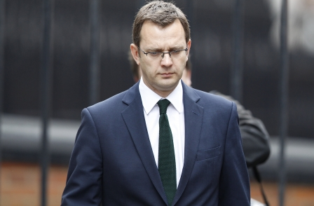 Andy Coulson blames News of the World lawyers for not telling him phone-hacking was a crime