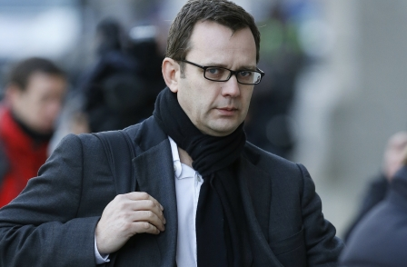 Former News of the World editor Andy Coulson enters hacking trial witness box