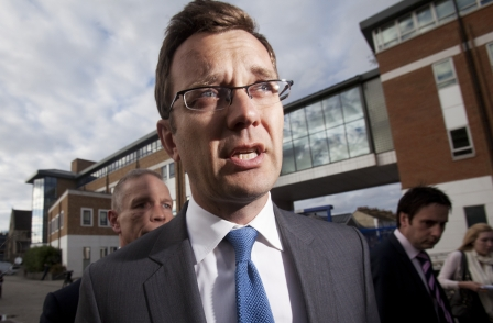 Former News of the World editor Andy Coulson launches PR firm