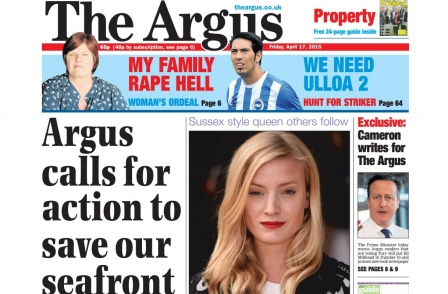 Mike Gilson unveils new look for Brighton Argus with 'hard yards' ahead to slow print sales decline