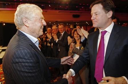 Paddy Ashdown accuses BBC of misrepresenting Lib Dems by reporting Nick Clegg opted out of TV debate
