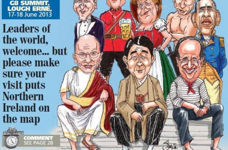 Belfast Telegraph scoops the world with Cameron G8 exclusive