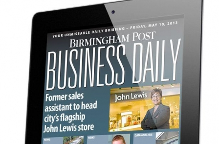 Birmingham Post considers daily tablet edition after scrapping iPad Business Daily
