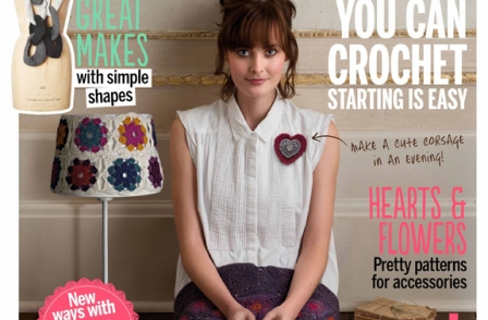 Future follows on success of Mollie Makes with launch of Simply Crochet