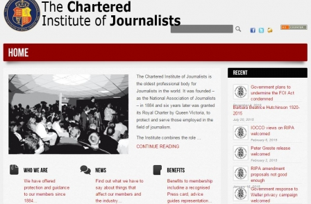 Former UKIP PR chief Mark Croucher to be president of the Chartered Institute of Journalists