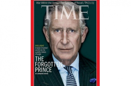 Prince Charles author tells how Clarence House screened Time magazine cover story interview