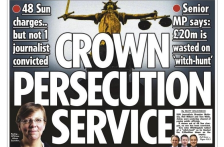 CPS dubbed 'Crown Persecution Service' as former DPP Ken Macdonald says journalist trials were 'error'