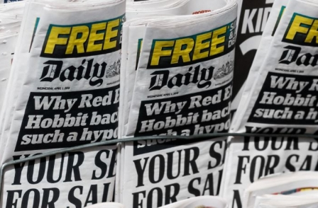 Daily Mail owner to slash 400 jobs amid pressure on print advertising