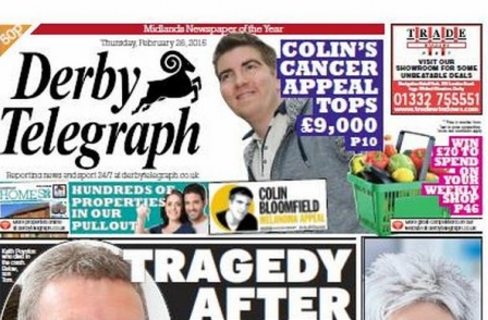Derby Telegraph in breach of three clauses of Editors' Code over picture of injured girl, IPSO rules