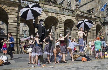 News UK gives nine students the chance to cover the Edinburgh Festival Fringe for The Times and Sunday Times