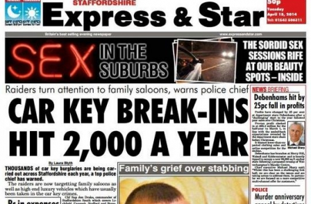 76 jobs at risk as Express & Star publisher moves to overnight printing
