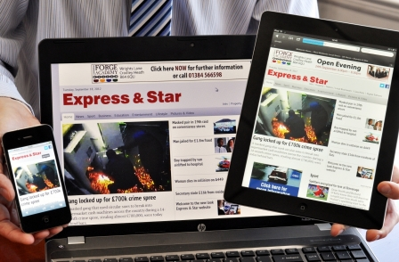 Express & Star owner reports £12.5m losses