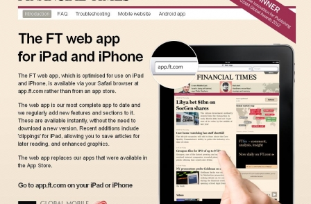 The UK's top news websites for iPhone, iPad and tablet