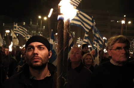Spectator editor defends column supporting Greek far-right party Golden Dawn