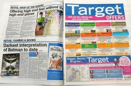 Grimsby Target makes return to print eight years after being shut down
