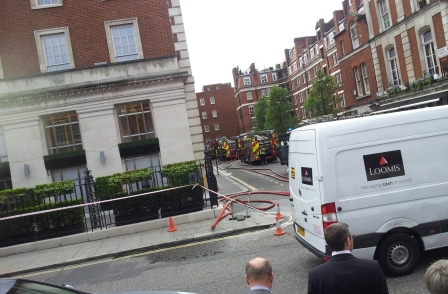 Regional Press Awards disrupted after fire at central London hotel
