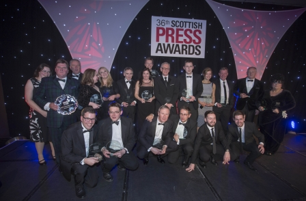 Daily Record triumphs at Scottish Press Awards