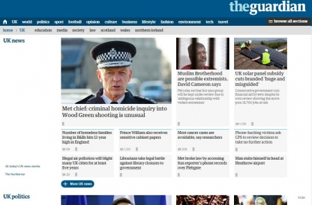 Newspaper website ABCs, Nov 2015: Paris coverage helps Guardian grow by more than 50 per cent in a year