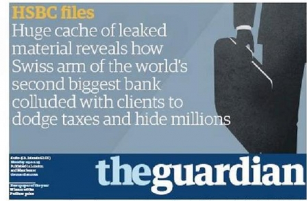 HSBC - the bank 'you cannot afford to offend' - stops advertising with The Guardian