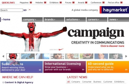 Haymarket reports 3.3 per cent underlying profit rise to £17.8m for the year